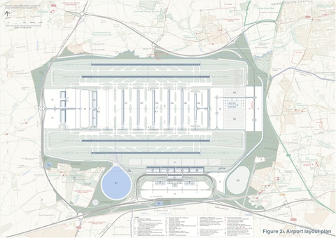 LOX 2013 airport layout plan